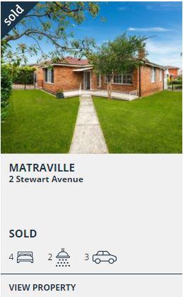 Real estate appraisal Matraville NSW 2036