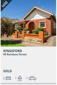 Real estate appraisal Kingsford NSW 2032