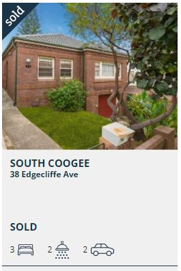 Real estate appraisal South Coogee 2034