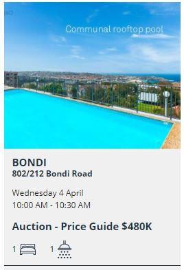 Real estate appraisal Bondi 2026 NSW