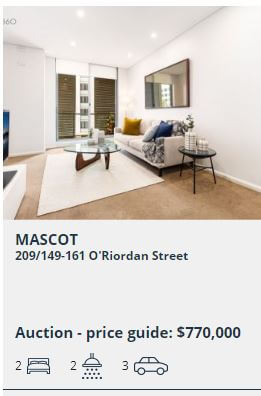 Real Estate appraisal Mascot NSW 2020