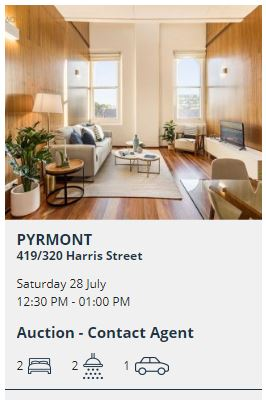 Real estate appraisal Pyrmont 2009