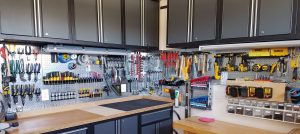 Garage storage space solutions