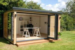 Shipping container portable offices