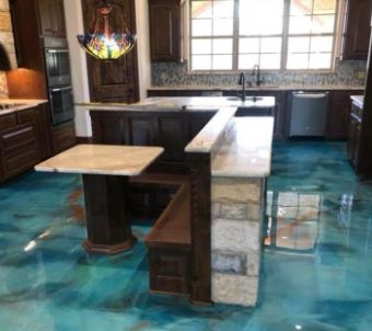Polymer flooring