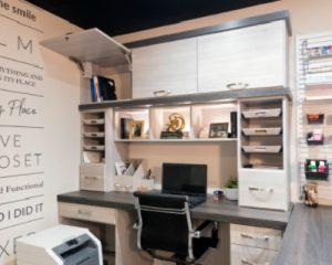 Home office shelfs